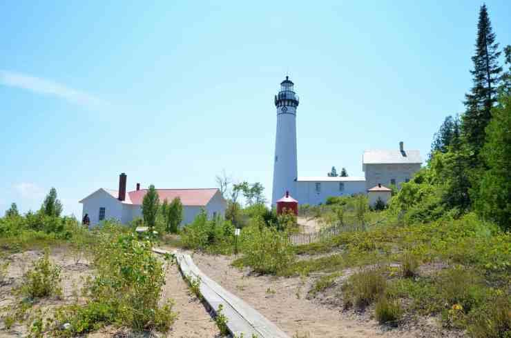 Lighthouse on South Manitou Island, Michigan