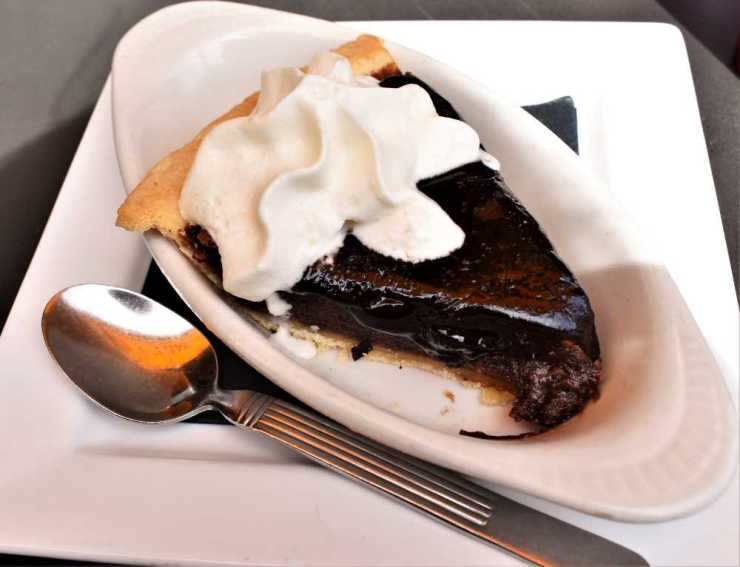 Chocolate Pie from Salt + Smoke in St. Louis Missouri