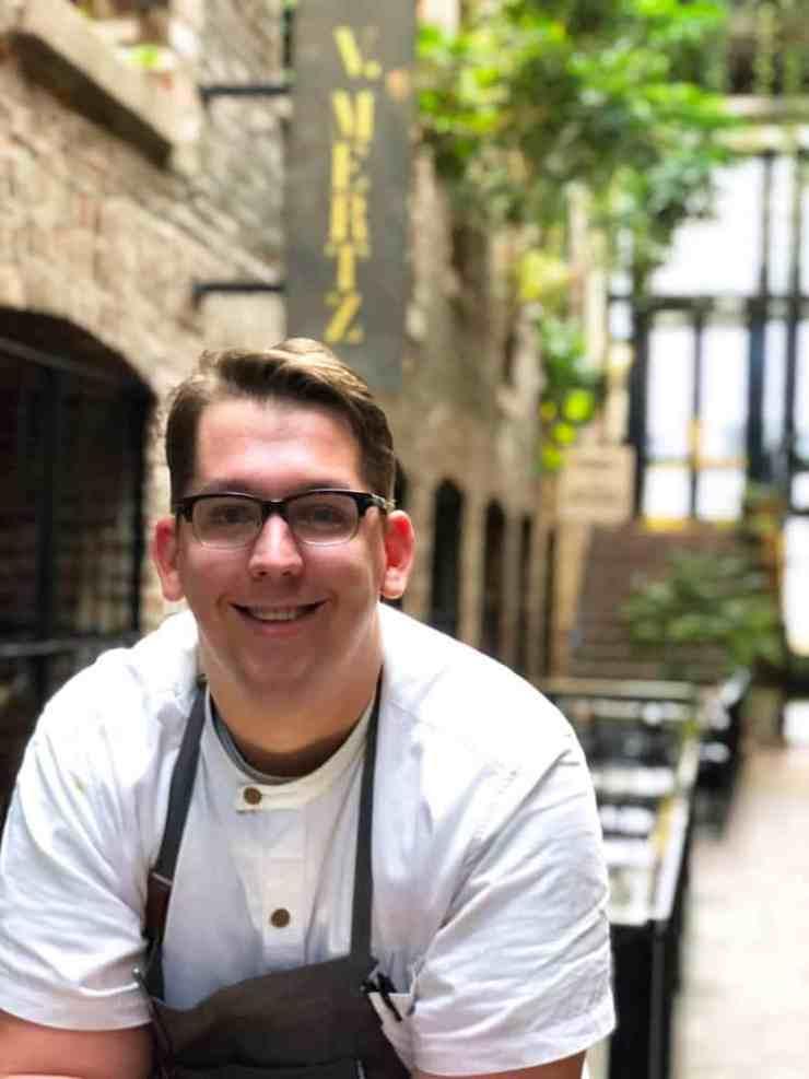 Chef Jake Newton of V. Mertz