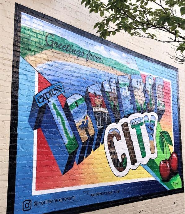 Traverse City Street Art