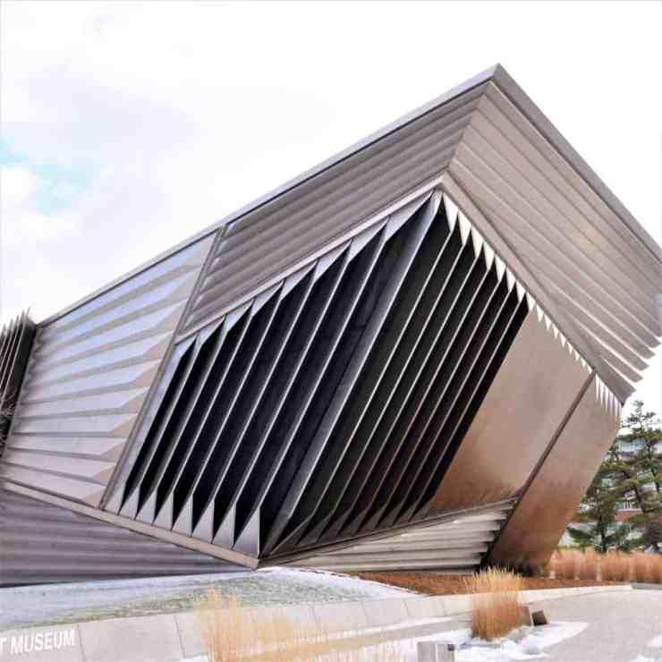 Broad Art Museum in East Lansing