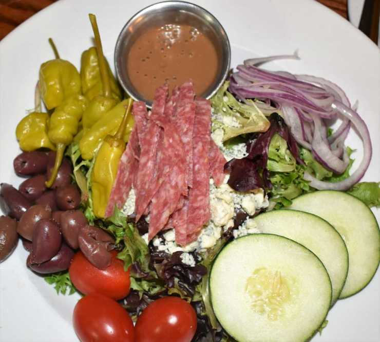 Greek Salad from Soup Spoon Cafe
