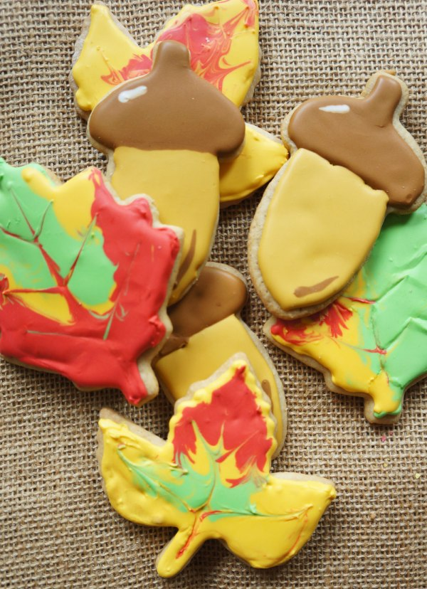Fall Brown Sugar Cookies