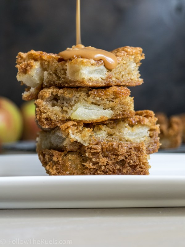 Caramel Apple Bars-6