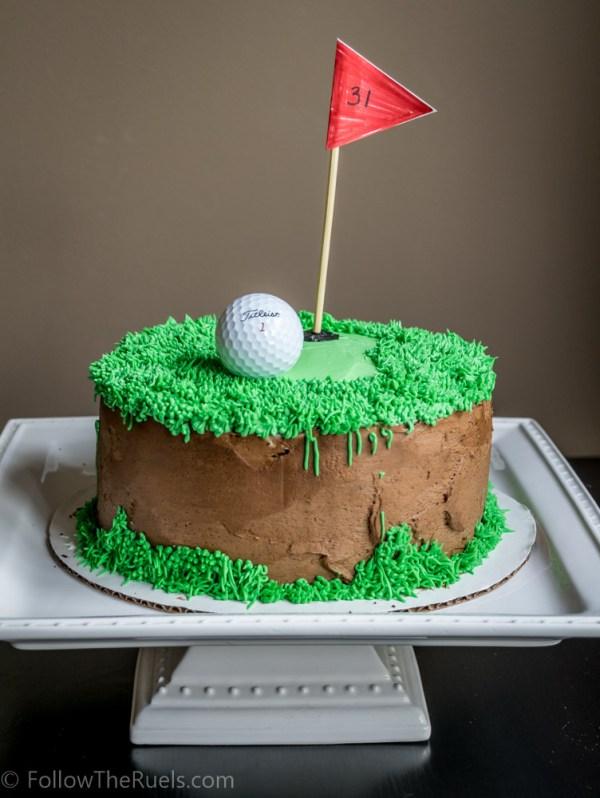 Golf Cake-3