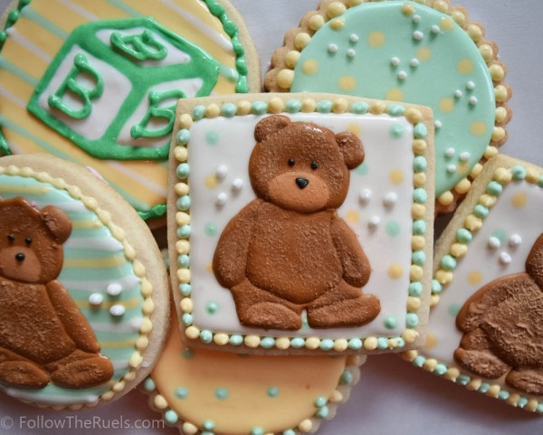 Teddy Bear Cookies-10