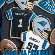 Carolina Panthers Cookies
