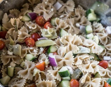 Greek Pasta Salad-7