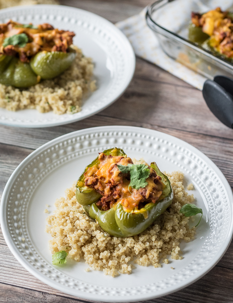 Chorizo Stuffed Peppers-10