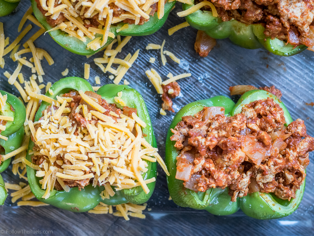 Chorizo Stuffed Peppers-5