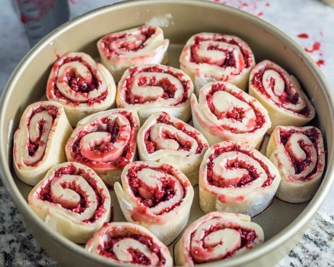 Raspberries Sweet Rolls-10