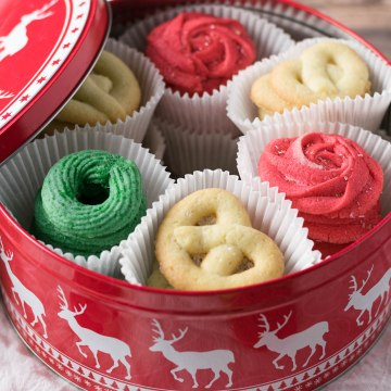 Classic Danish Butter Cookies with a Modern Twist