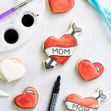 Mom Tattoo Cookies