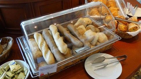 Park Inn by Radisson, breakfast bread