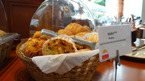 Park Inn by Radisson, breakfast muffin