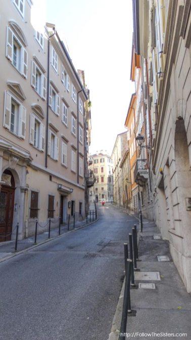 TriesteNarrowStreets