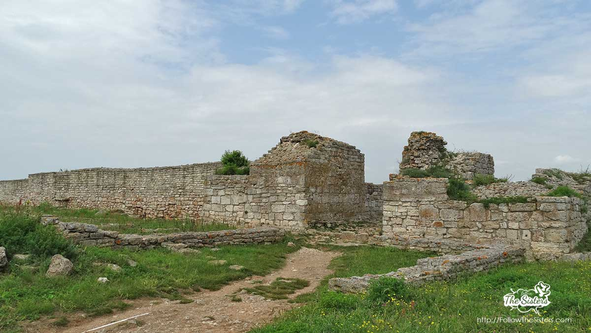 Remains of ancient fortress on Cape Kaliakra