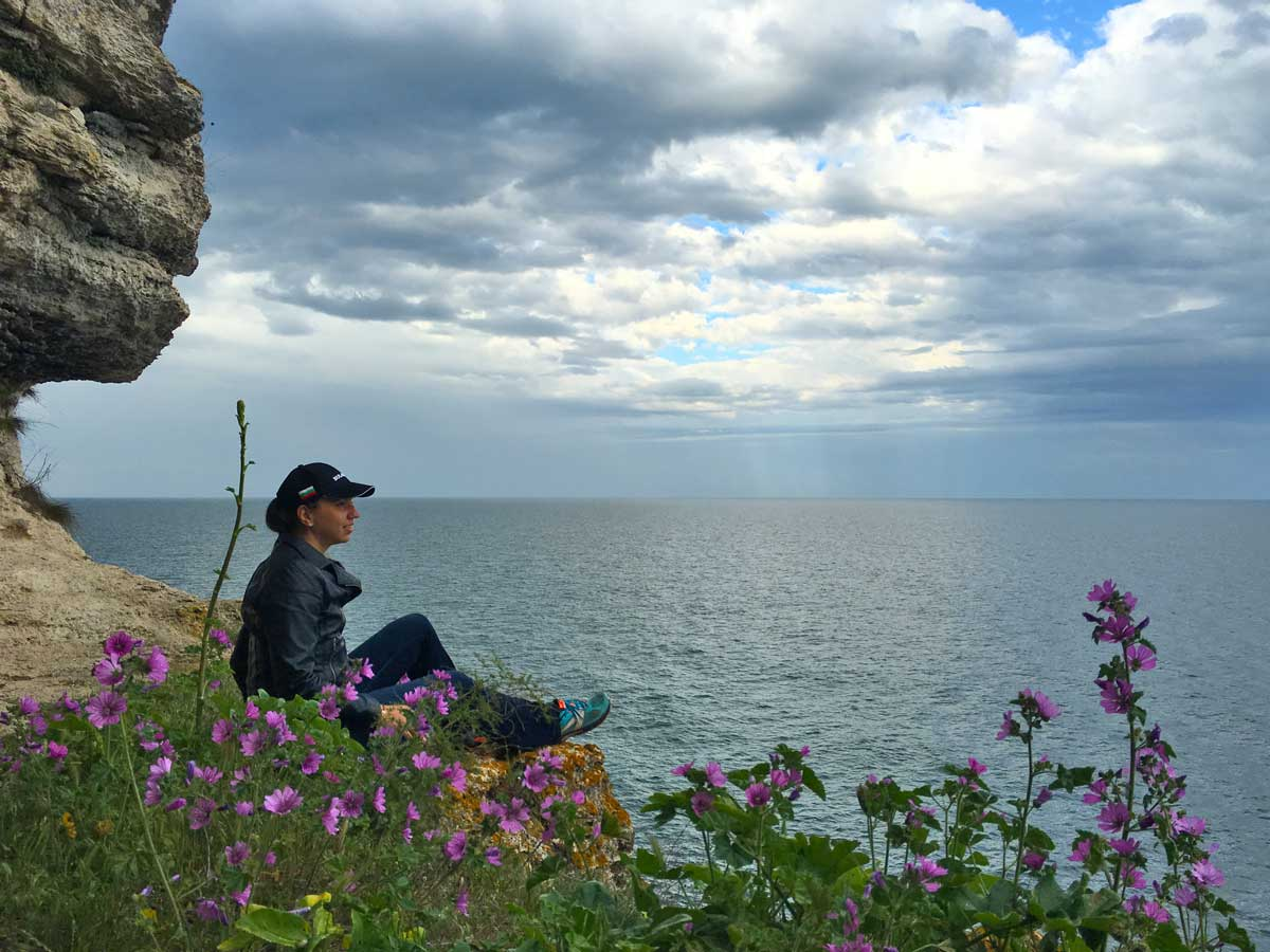 The perfect place to meditate on the Black Sea coast