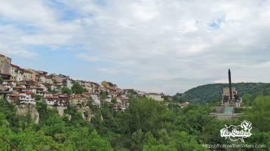 View of Veliko Tarnovo from General Gurko street