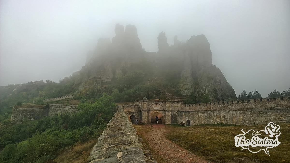 Belogradchik fortress in the fog