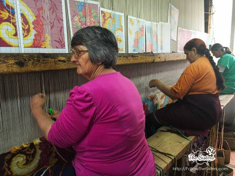 Creating magic in the carpet factory in Kostandovo