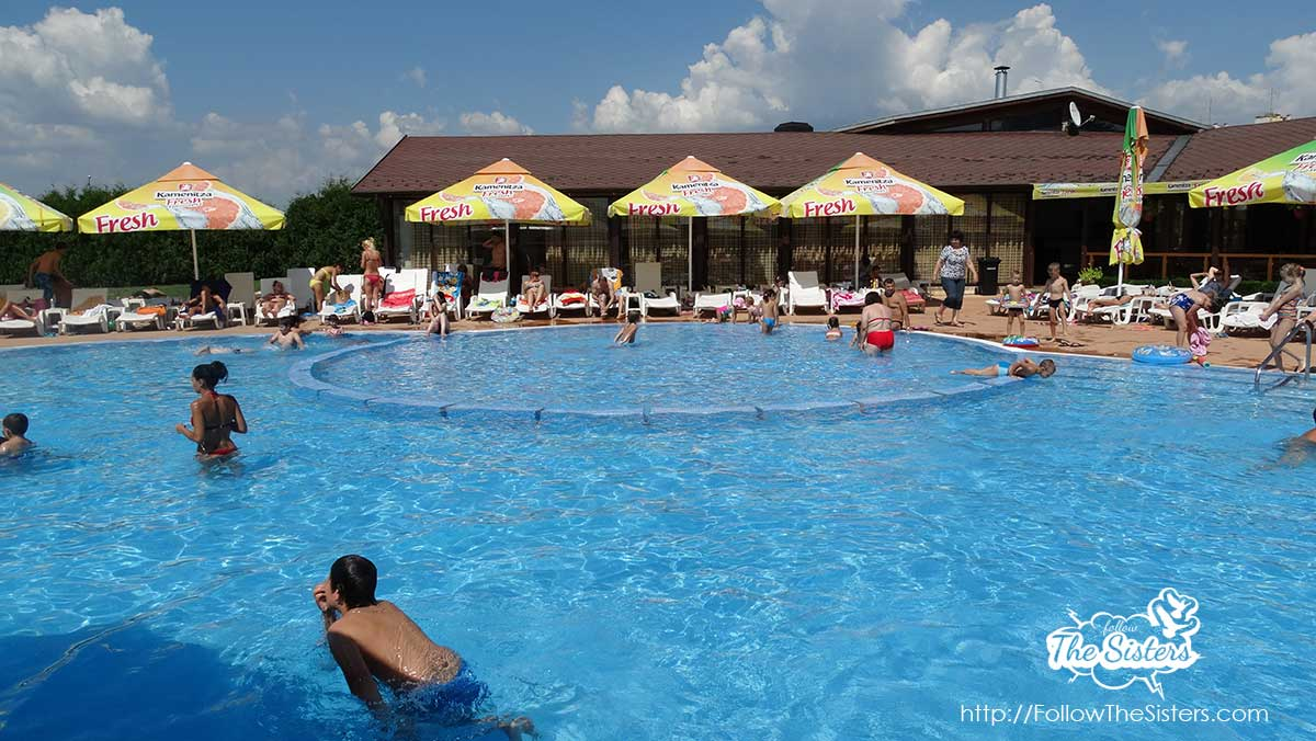 Kids swimming pool in Varadero, Sofia