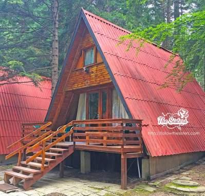 One of the huts in Villa Malina, Borovets