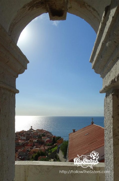 Romantic view from Piran Bell Tower