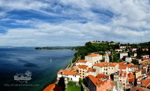 The view from Piran Bell Tower