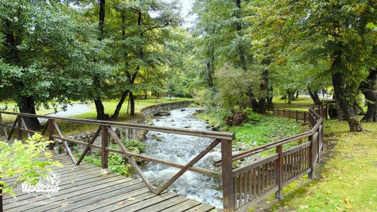 the river in park Rila, Dupnitsa