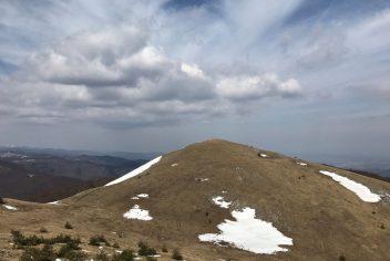 Mountain peak near Buzludza