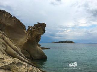 Awesome rocks at Talgo beach
