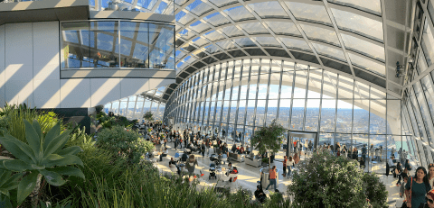 The Sky Garden Of London