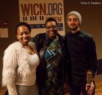 Nedelka Prescod, Bonnie Johnson and Michele Beneforti.