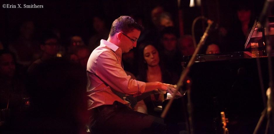 Martin Berjerano on piano.