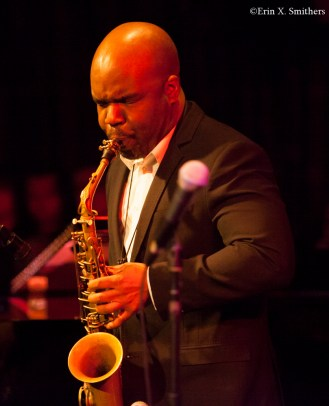 Jaleel Shaw on saxophones