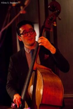 David Wong on bass