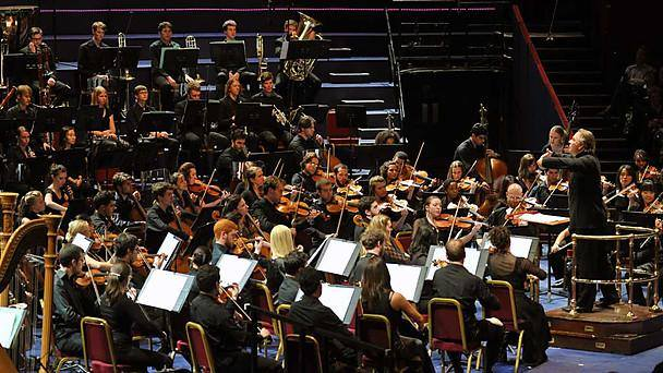 Aldeburgh World Orchestra concert at the Royal Albert Hall for the BBC proms (London 2012), courtesy of the artist