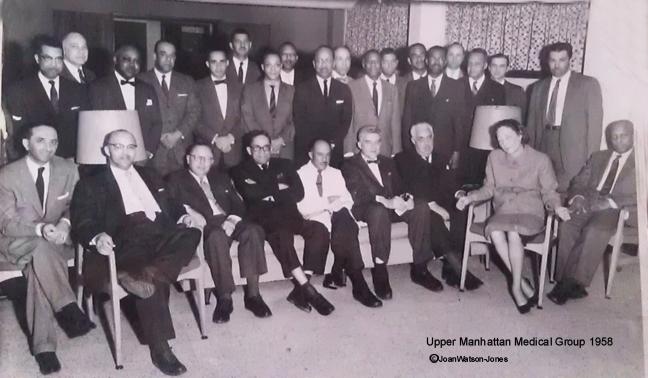The UMMG doctors, photo courtesy Joan Watson-Jones