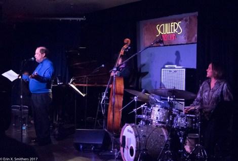 Eric Jackson introduce the trio.