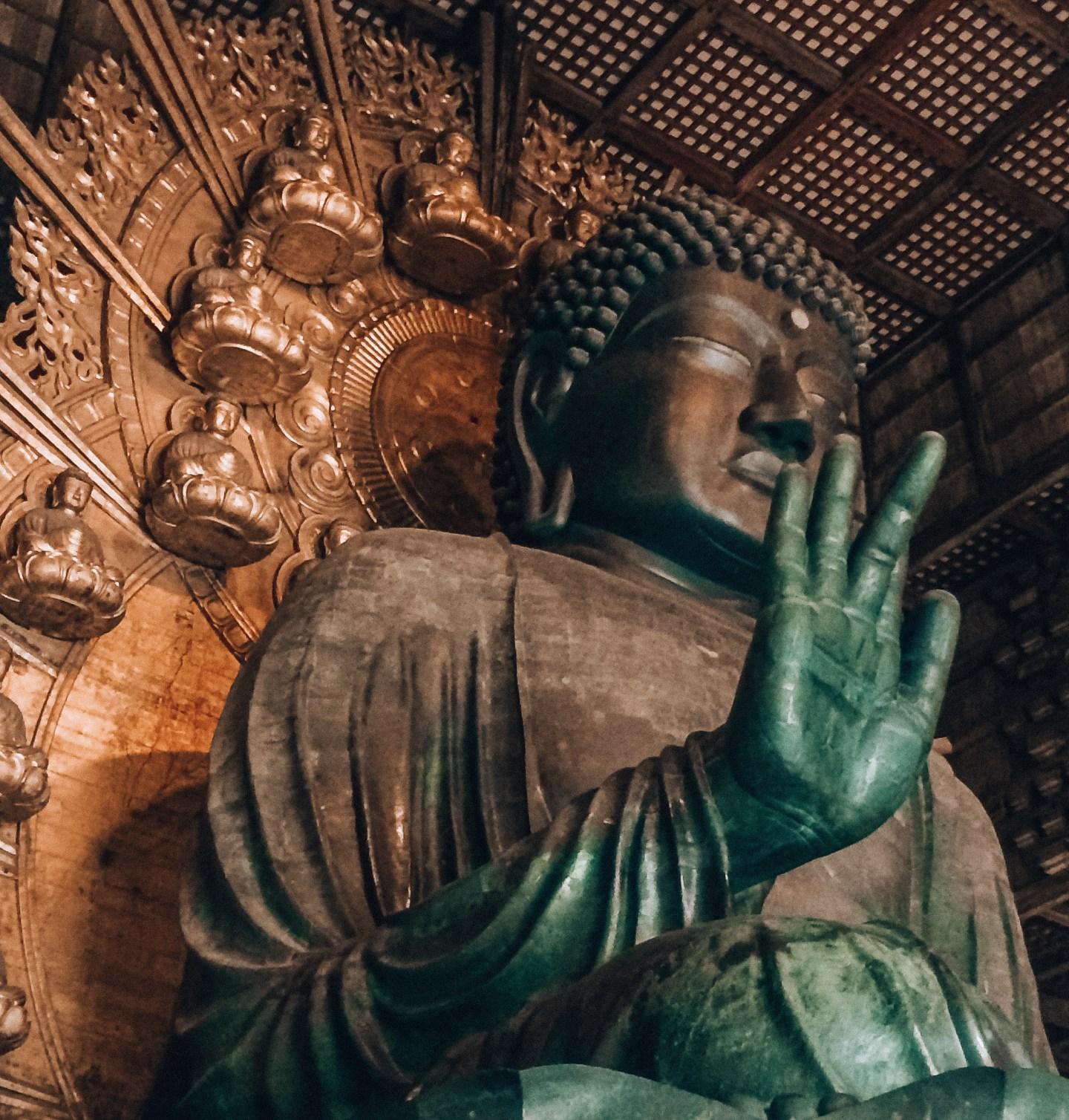Giant Buddha, Nara Japan