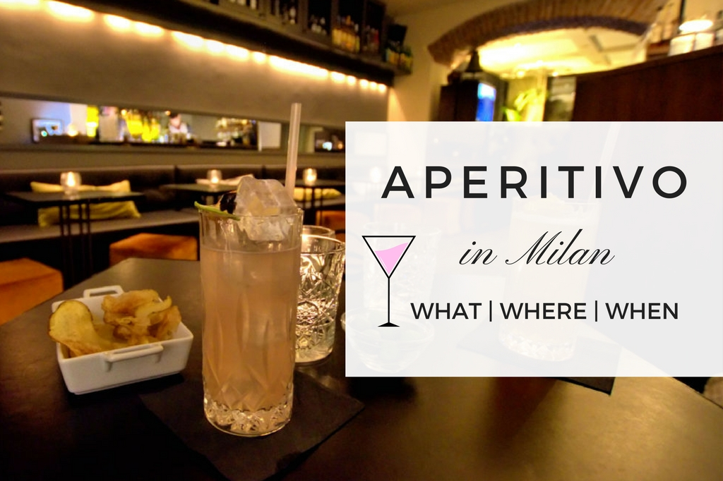 best aperitivo in Milan - bars