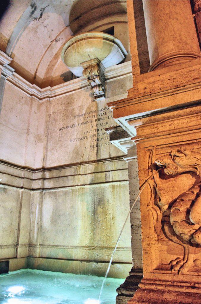 zwiedzanie rzymu - przewodnik po rzymie - fontanny rzymu - fontana di ponte sisto