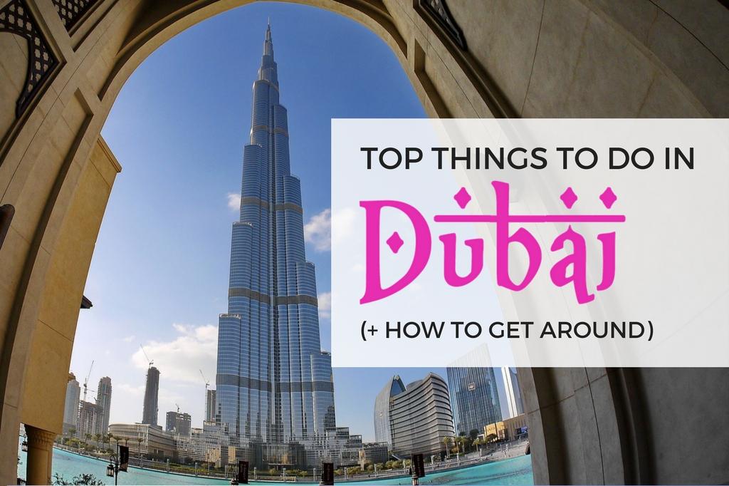 dubai tourist places - how to get around dubai