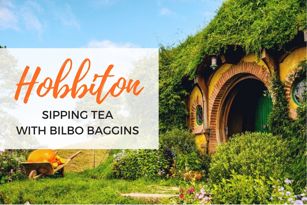 visiting hobbiton - hobbit village in New Zealand -