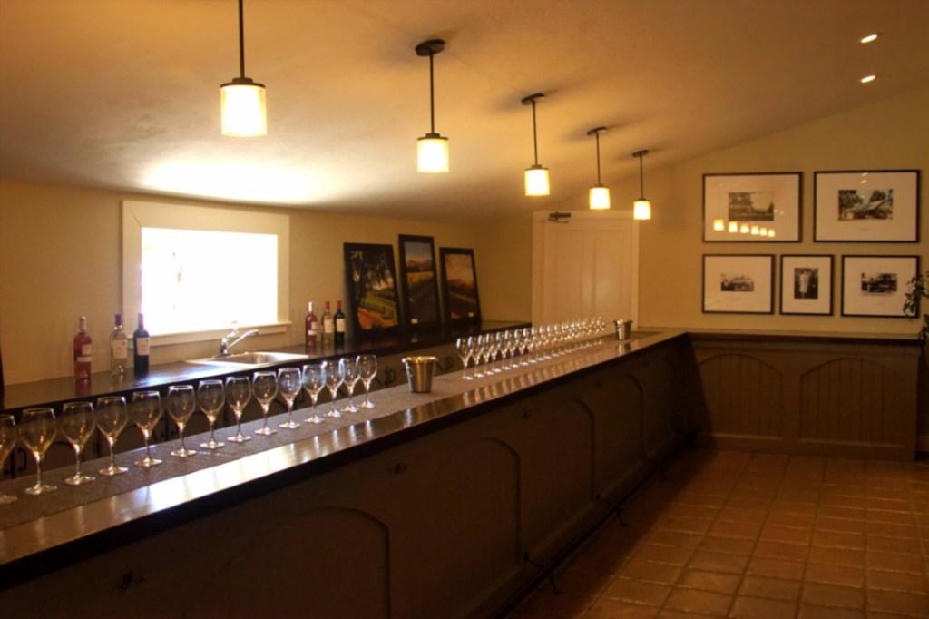 Sala do degustacji wina w winnicy Sutter Home