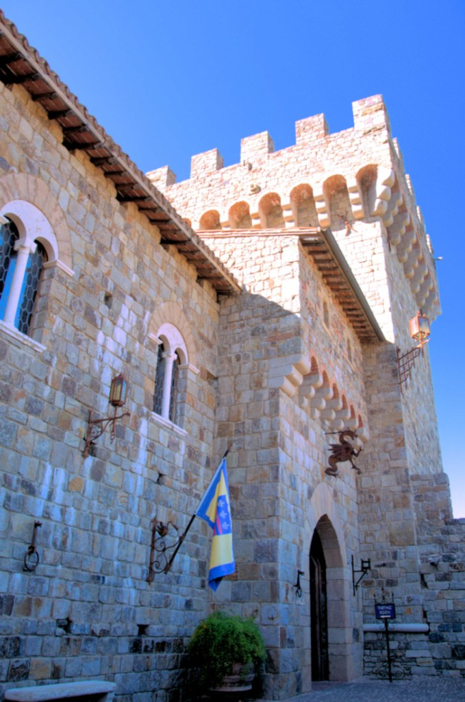 best wineries in Napa Valley - Castello di Amorosa