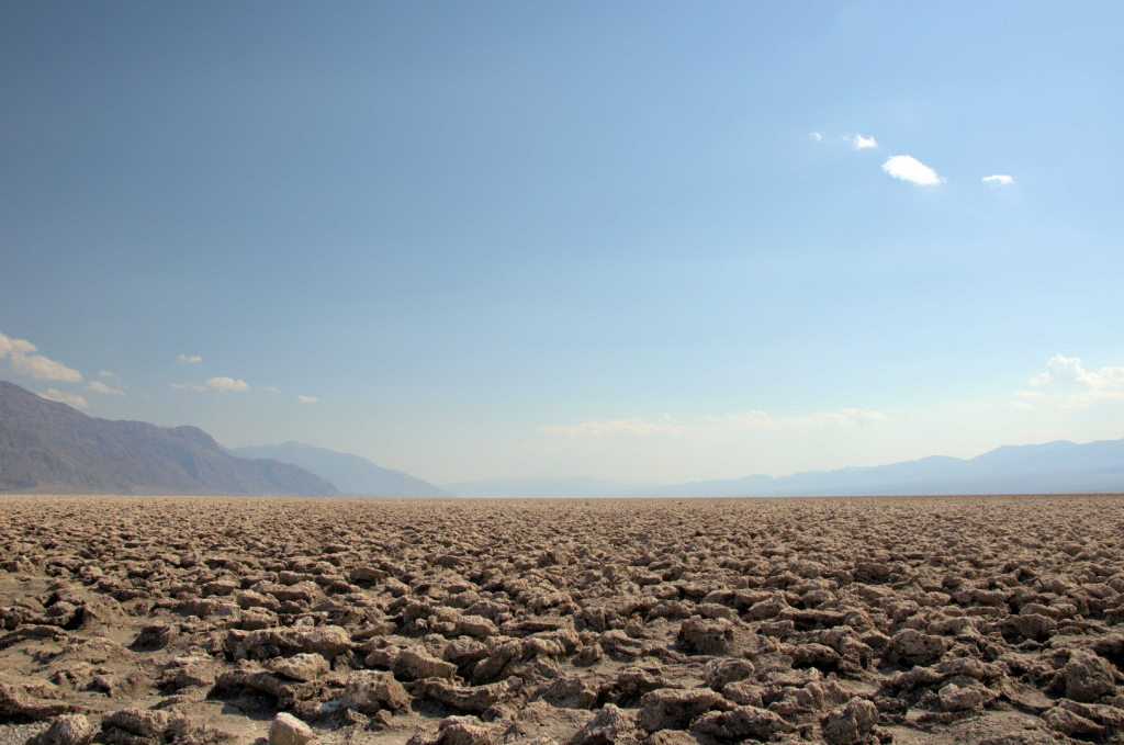 things to do in death valley - Devil's Golf Course