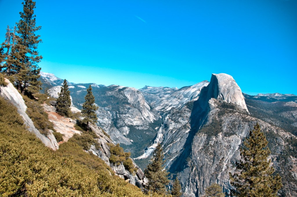 things to do in yosemite national park - View from Glacier Point