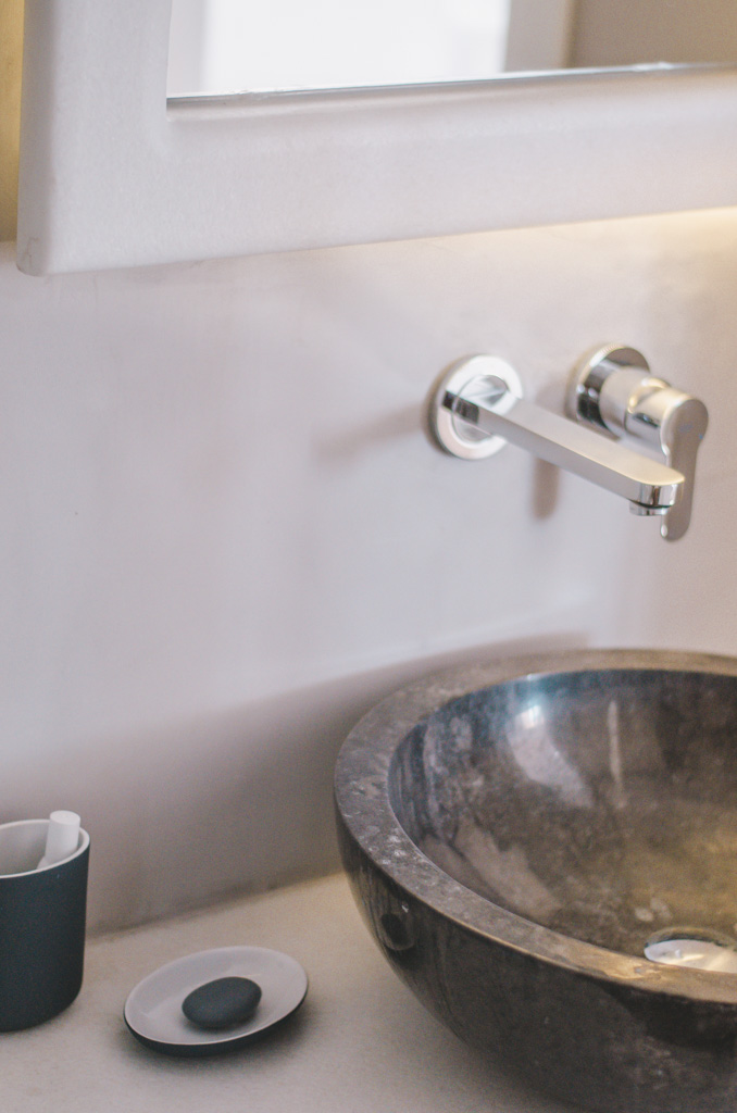 Naxos Rock Villas - toaleta